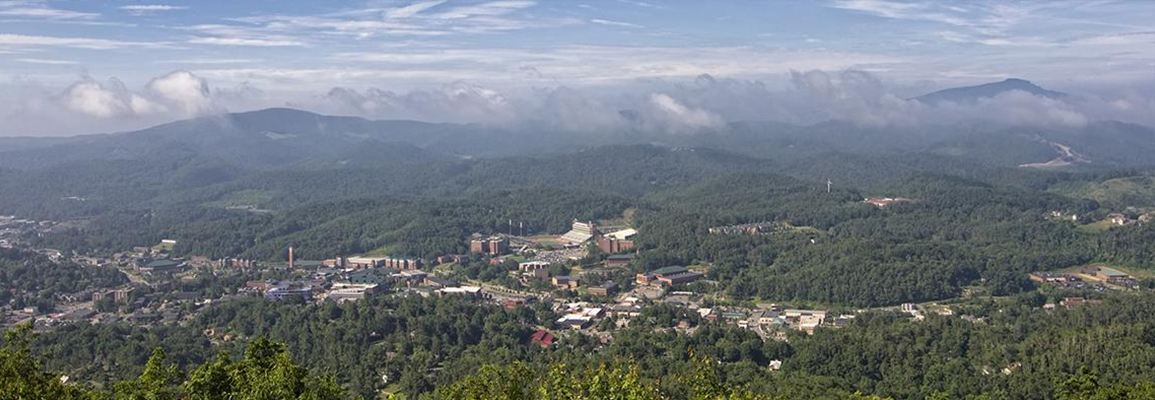 High-level Boone view